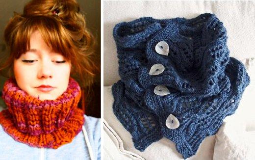 Cómo hacer abrigados cuellos de trapillo con patrones XL o de lana ...