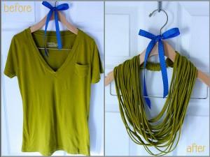 Fácil Collar de Trapillo sin Costuras