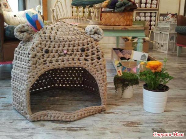 Tejidos en trapillo para nuestras mascotas | El blog de trapillo.com