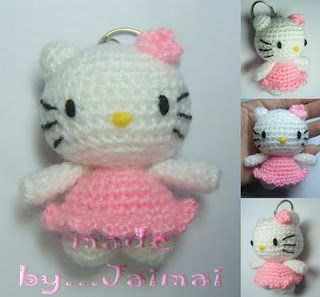 Patrones de Hello Kitty para trapillo y lana El blog de ...