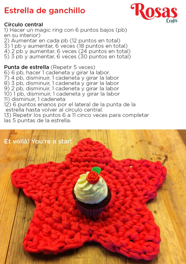 Guia para tejer bien crochet on trapillo gr 474787 - Ideas para decorar la casa ...