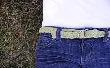 Modelos de cinturones de trapillo