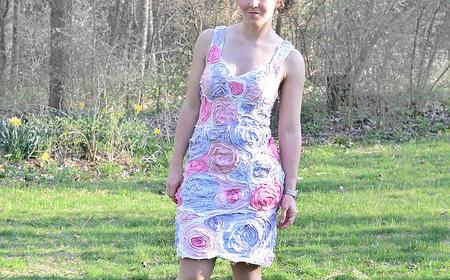 Vestido de trapillo
