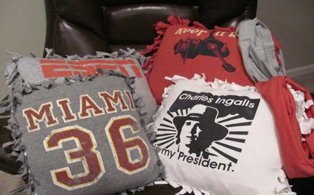 Cómo convertir una camiseta en un cojín | El blog de trapillo.com