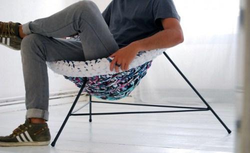 Decorar el mobiliario con trapillo