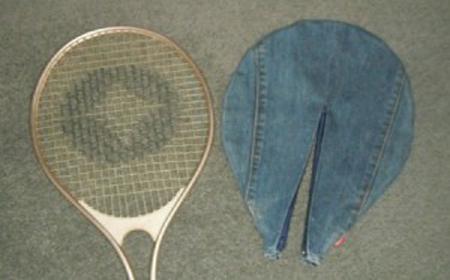 Estuche de jean para raquetas