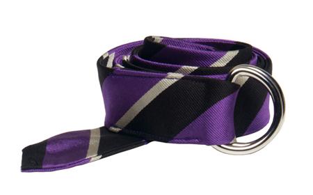 Reciclaje cómo hacer un cinturón con una corbata