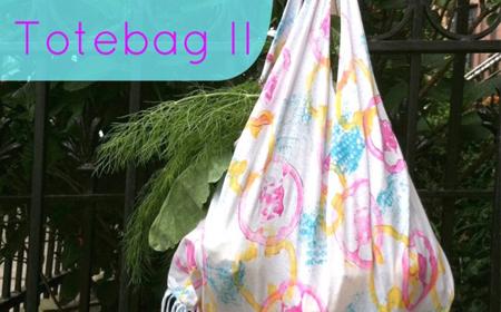 Cómo hacer una bolsa de compras sin costura