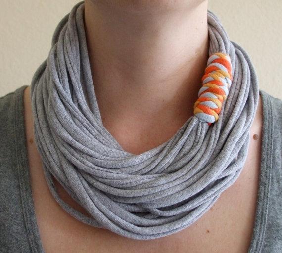 tienda oficial bien baratas precios baratass Collar-bufanda sencilla de trapillo | El blog de trapillo.com