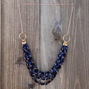 Collar trenzado con cadenas_1