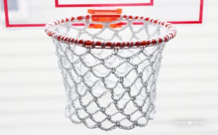 Cómo hacer un aro para baloncesto con trapillo