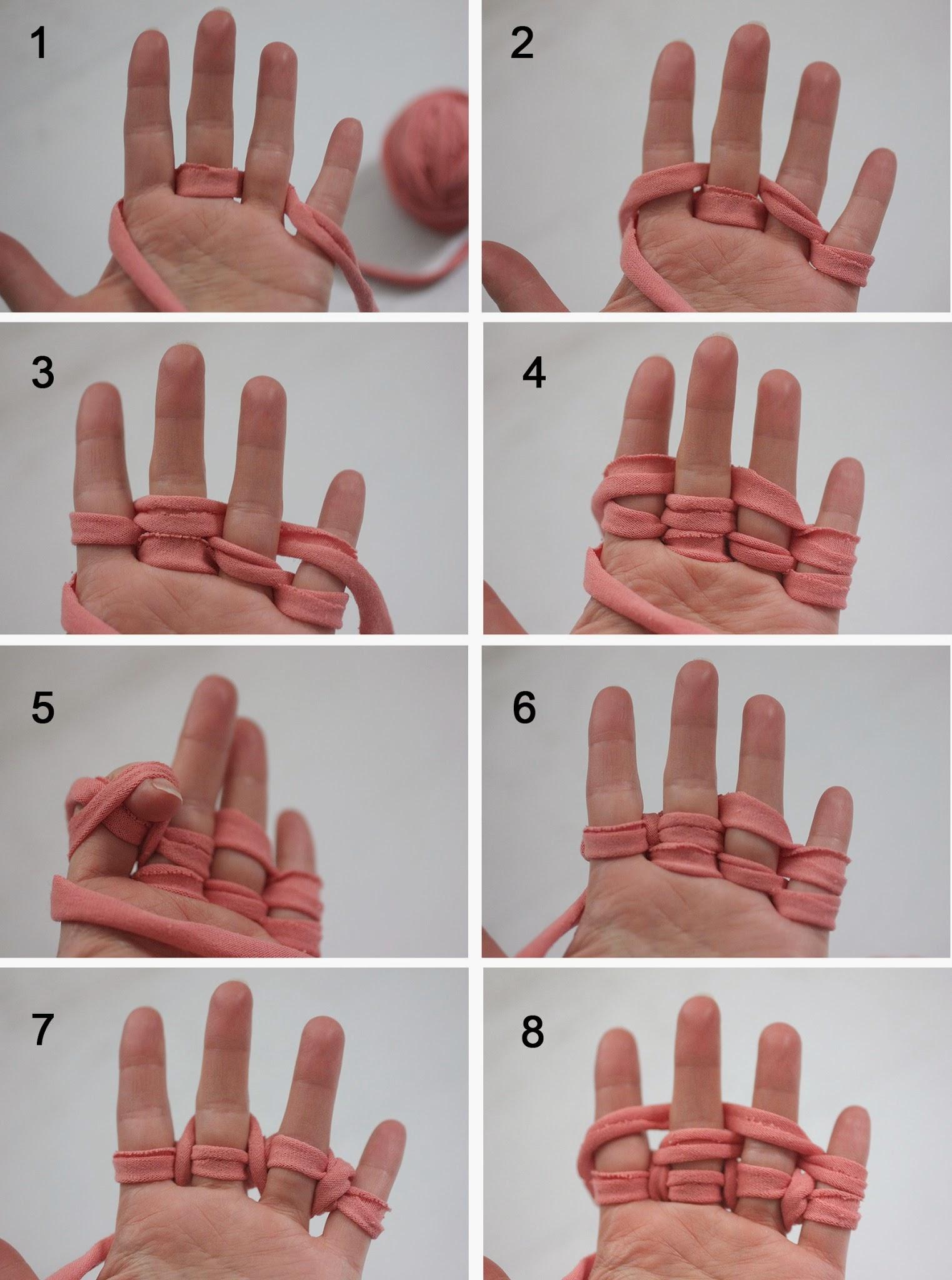 Tejer con las manos video de manualidades actividades para.