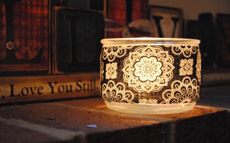 Ideas para renovar lámparas con tela