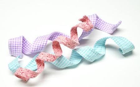 Cómo hacer cintas con alambre y tela