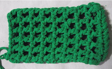 Cobertor de trapillo