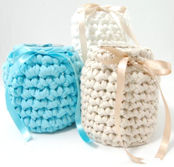 Cobertor tejido para botellas   El blog de trapillo.com