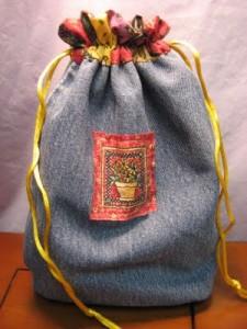 Cómo hacer un saco con jeans_1
