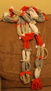 Bufanda multicolor de trapillo_1