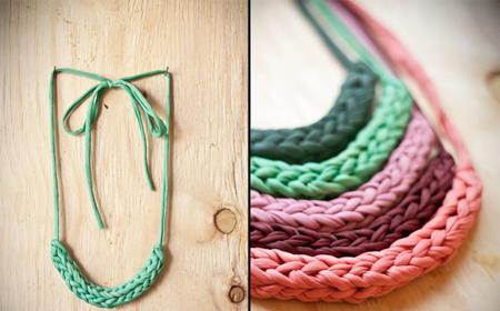 Collar De Cadenetas Y Otras Puntadas El Blog De Trapillocom