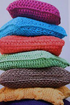 Modelos de cojines de trapillo | El blog de trapillo.com