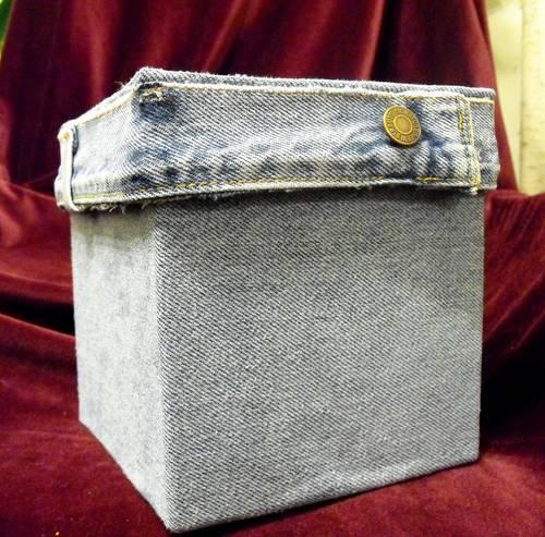 Decorar cajas con jean El blog de trapillocom
