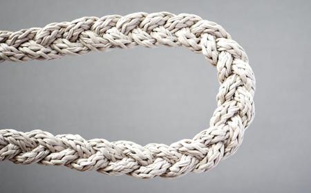 Cómo tejer un cordón con trapillo