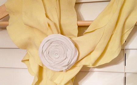 Cómo hacer una bufanda ondulada