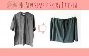 Cómo hacer una falda sin costura
