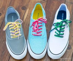 Cordones de trapillo para zapatos