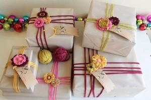 Envolver regalos con trapillo