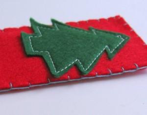 Marcalibros navideño