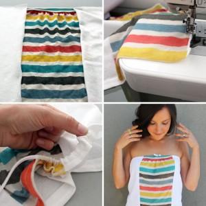 Transforma una camiseta en un top chic_1
