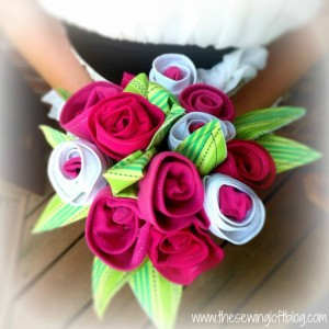 Flores de tela para decorar
