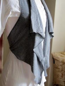 Cómo hacer un chaleco sin costura