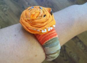 Diseños de pulseras de trapillo