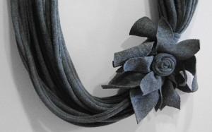 Modelos de collares de trapillo con flores