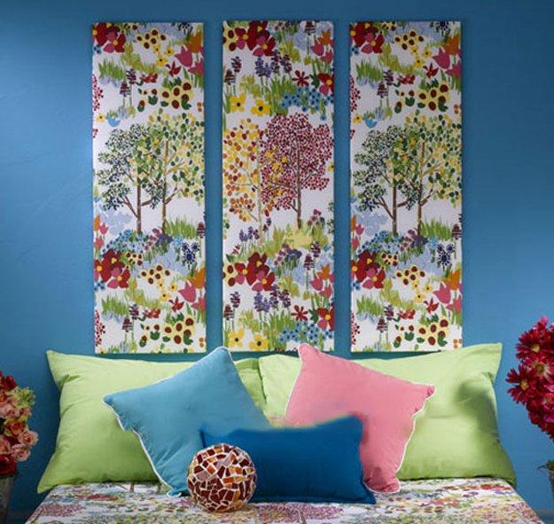 Cuadros Decorativos De Tela El Blog De Trapillocom - Como-hacer-cuadros-de-tela
