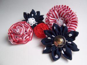5 Modelos de broches de tela