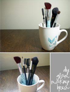 decorar-brochas-de-maquillaje-con-tela