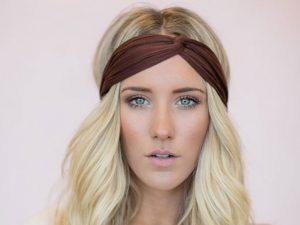 Accesorios de tela para el cabello