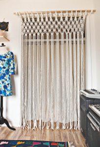 Modelos de cortinas de tela reciclada