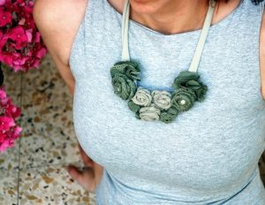 Recycled-Fabrics-Jewelry-Necklace