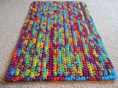 Tips para escoger trapillo para hacer una alfombra rect ngular el blog de - Alfombras ganchillo trapillo ...