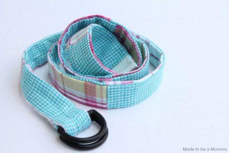Cinturón de patchwork