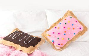 Cojines de dulces sin costura