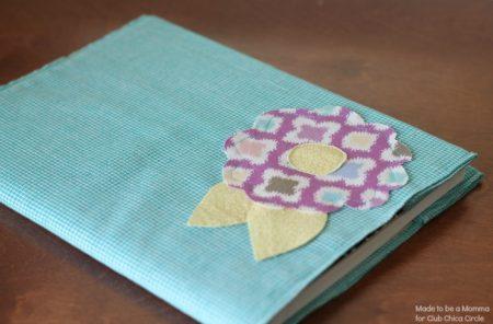Cobertor de tela para cuadernos