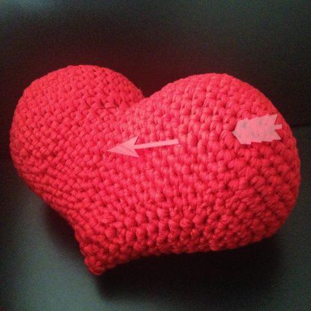 Cojines de corazón