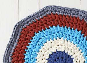 Nuevo patrón para alfombra de trapillo