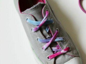 Cordones para zapatos con trapillo