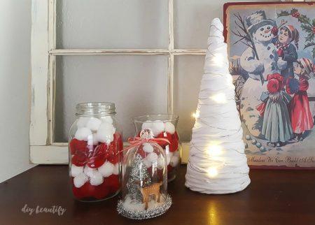 Árbol navideño con trapillo